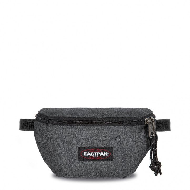Riñonera Eastpak gris oscuro con compartimento frontal con cremallera - Querol online