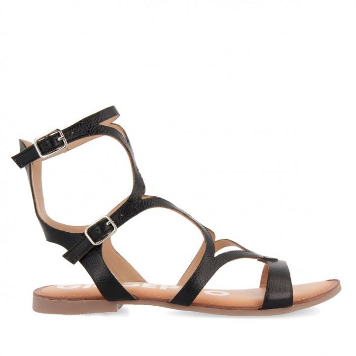 Sandalias planas Gioseppo de estilo gladiador corning - Querol online