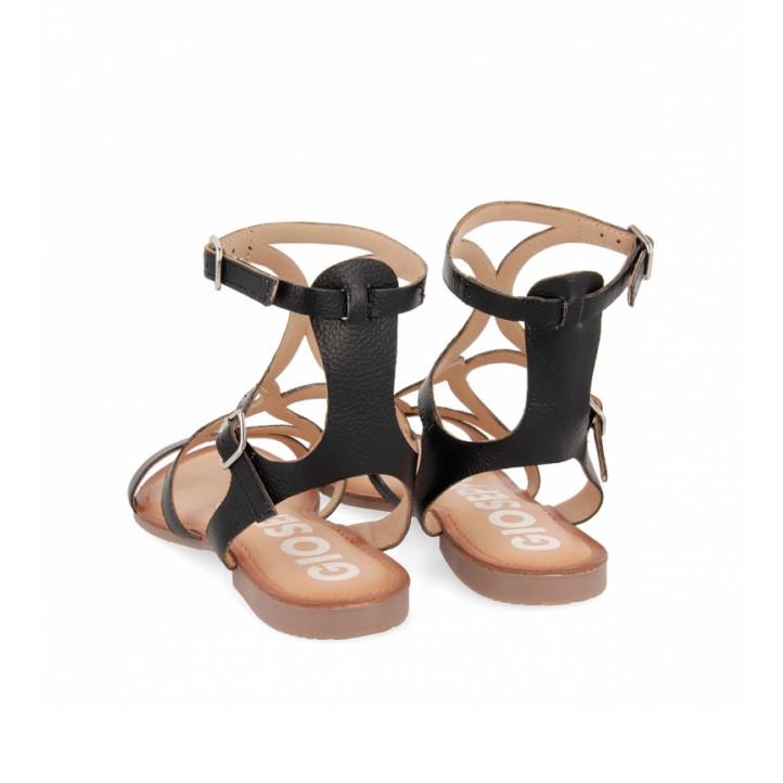 Sandàlies planes Gioseppo d'estil gladiador corning - Querol online