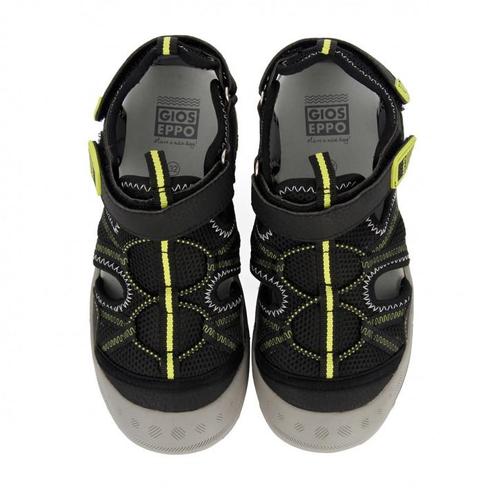 sandalias Gioseppo en negro mazatlan - Querol online