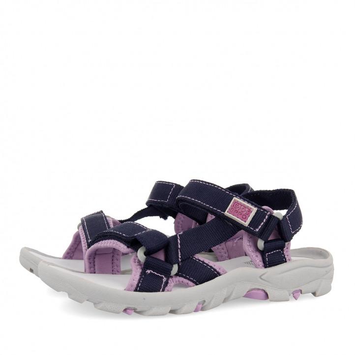 sandalias Gioseppo violeta para niña duval - Querol online