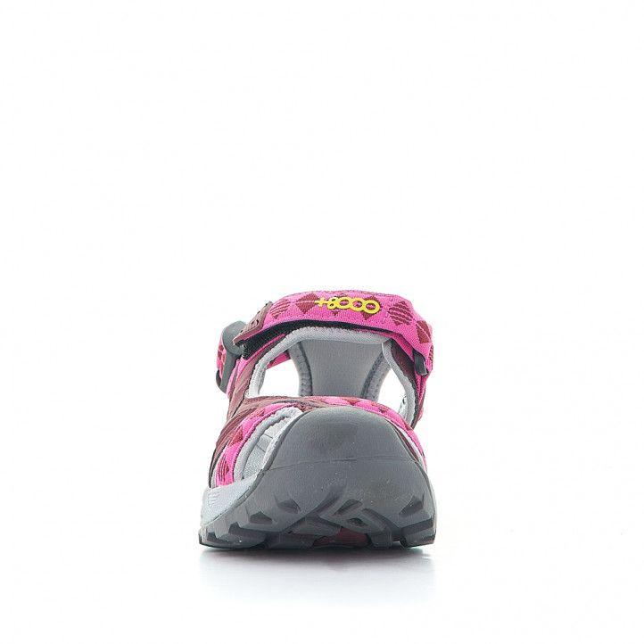Zapatillas deportivas +8000 técnicas con doble ajuste de velcro y tira en el talón - Querol online