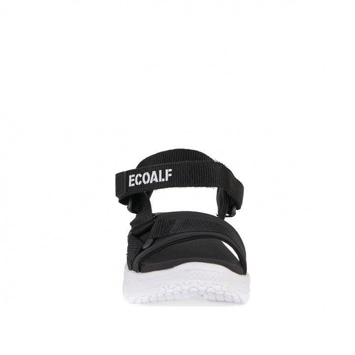 Sandàlies planes ECOALF black sofia - Querol online