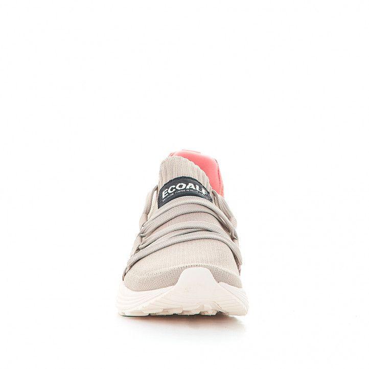 Zapatillas lona ECOALF coral malibu - Querol online
