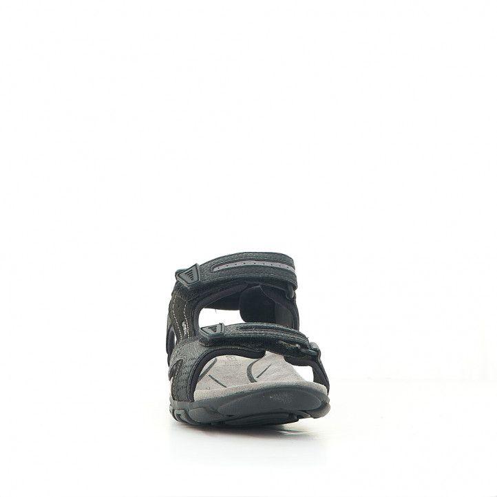 Sandalias Geox marrones sport de dos tiras - Querol online