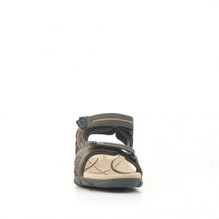 Sandàlies Geox marrons sport de dues tires - Querol online