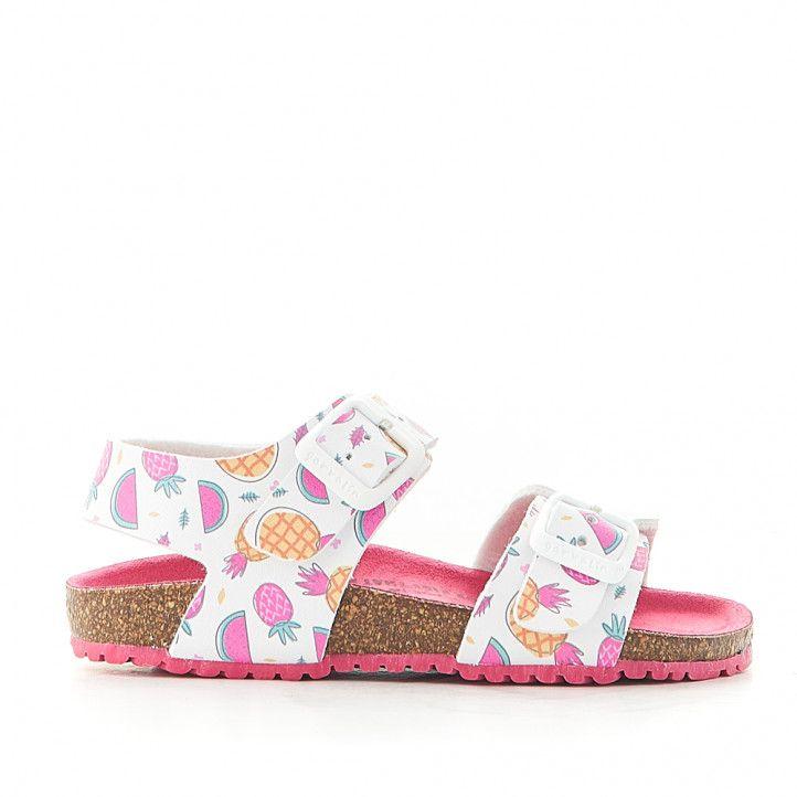 sandalias GARVALIN con piñas y sandías - Querol online