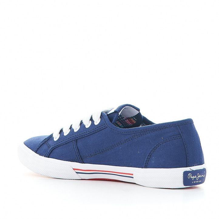 Zapatillas deportivas Pepe Jeans cross 4 tech navy - Querol online