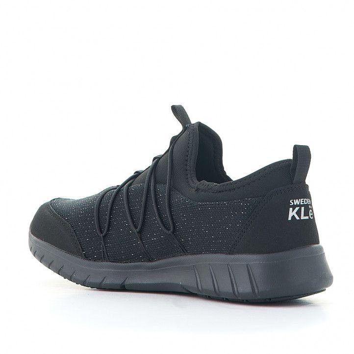 Zapatillas deportivas Sweden Klë elásticas completamente negro - Querol online