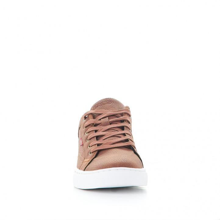 Zapatillas deportivas Levi's courtright brown - Querol online