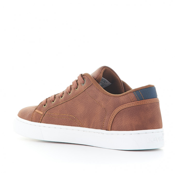 Zapatillas deportivas Levi's courtright brown - Querol online