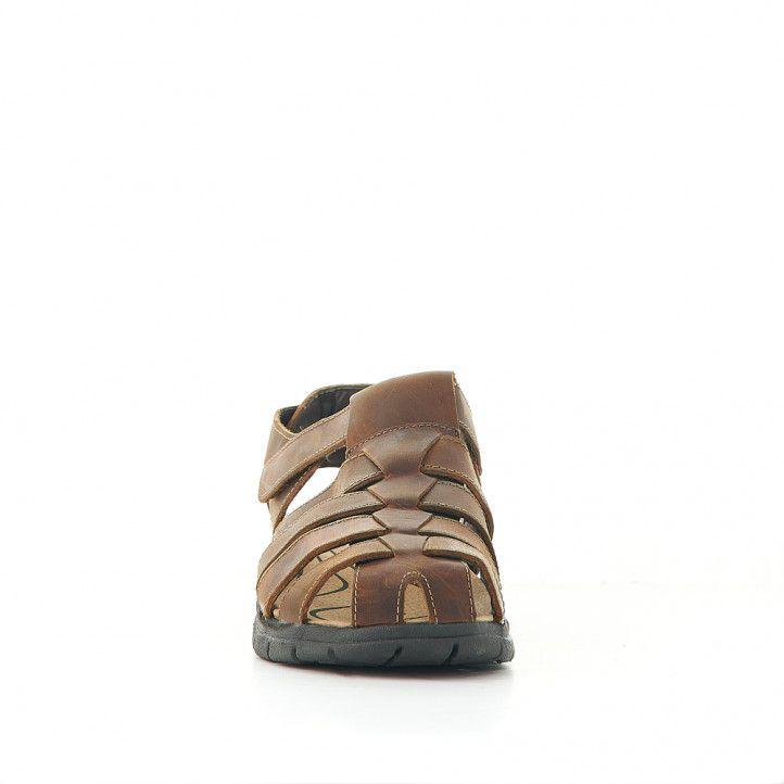 Sandàlies Vicmart marrons totalment tancades - Querol online
