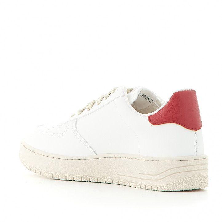 Zapatillas deportivas Victoria blancas con logo en negro - Querol online