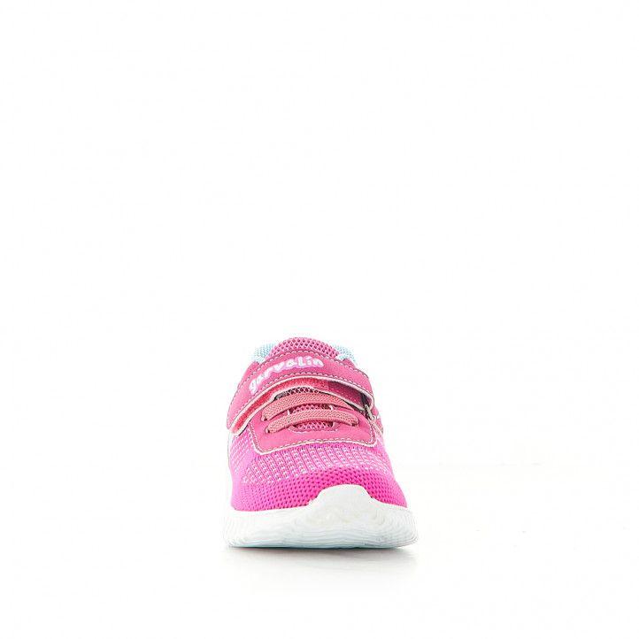 Zapatillas deporte GARVALIN con banda e interior azul - Querol online