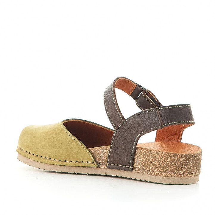Zapatos planos Jungla color verde oliva - Querol online