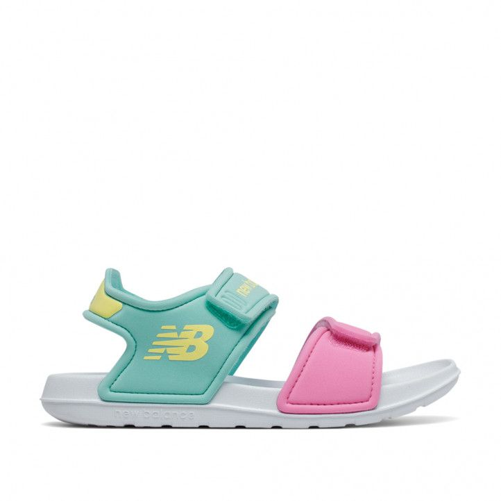 Chanclas New Balance candy pink con light tidepool - Querol online