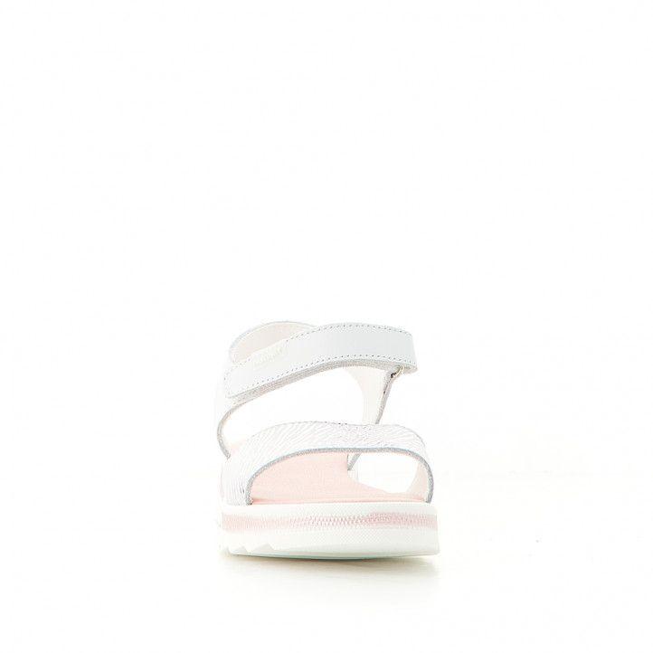 sandalias Pablosky con pala animal print y suela con color rosa - Querol online