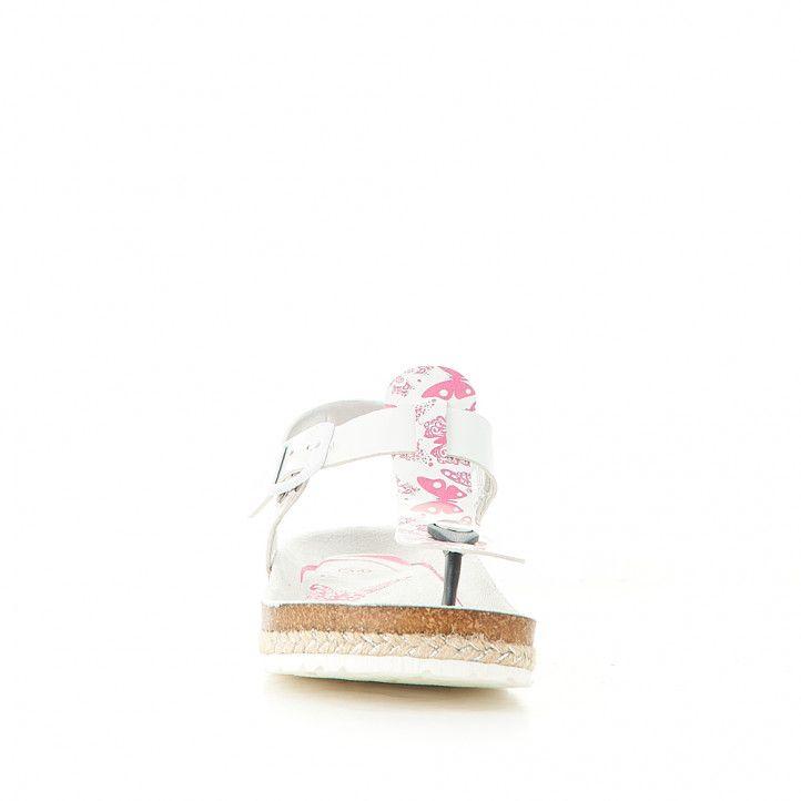 sandalias QUETS! bios de dedo con mariposas - Querol online