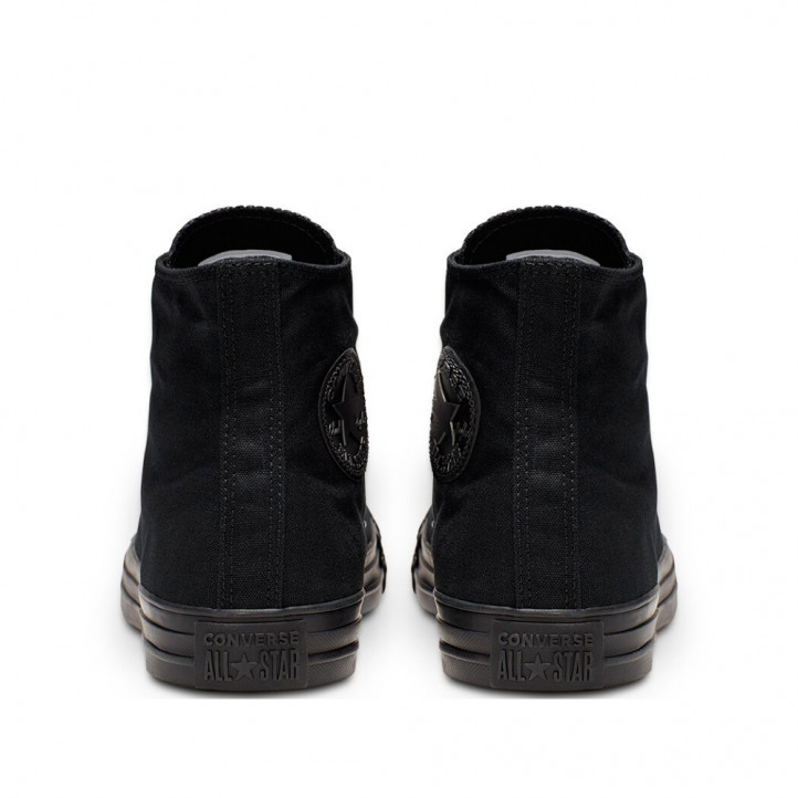 Sabatilles lona Converse negres monochrome chuck taylor allstar bota - Querol online