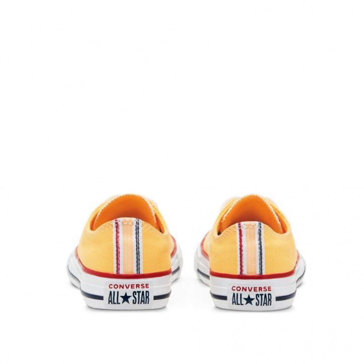 Zapatillas lona Converse amarillo chuck taylor all star low top - Querol online