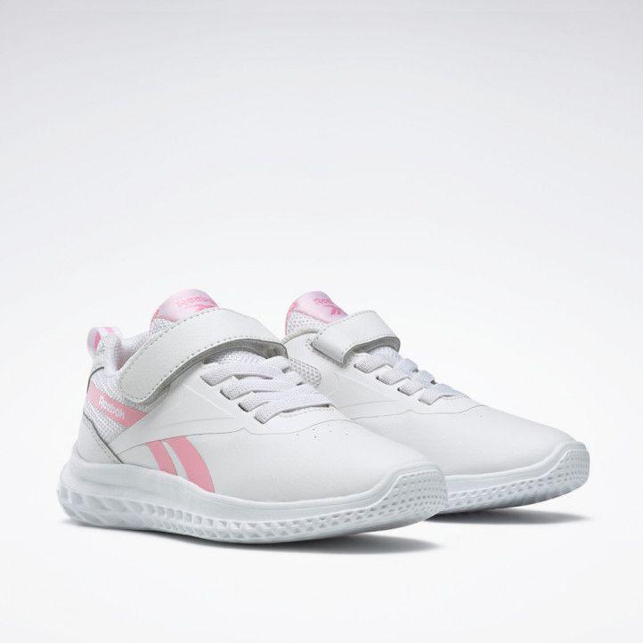 Zapatillas deporte Reebok rush runner 3 white and pink - Querol online