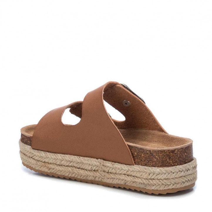 sandalias Xti con suela doble de 4 cm - Querol online