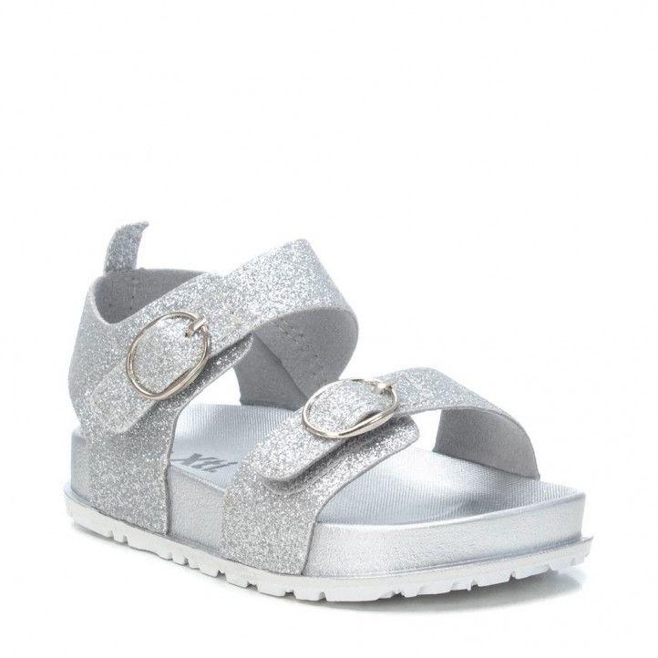 sandalias Xti fabricada en glitter - Querol online
