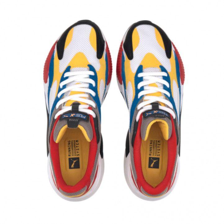 Zapatillas deportivas Puma RS X3 PUZZLE WHITE/YELLOW - Querol online