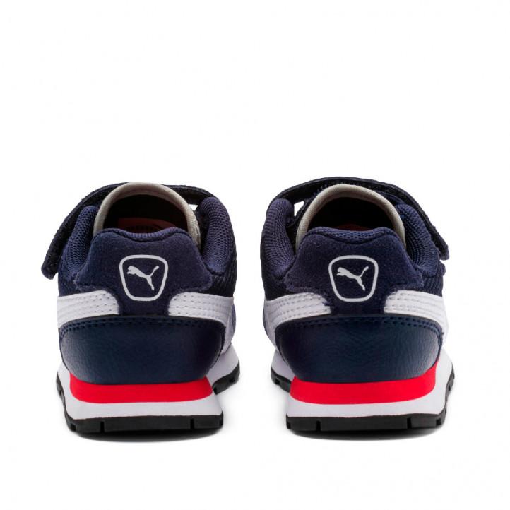 Sabatilles esport Puma vista v blaves, blanques i vermelles - Querol online