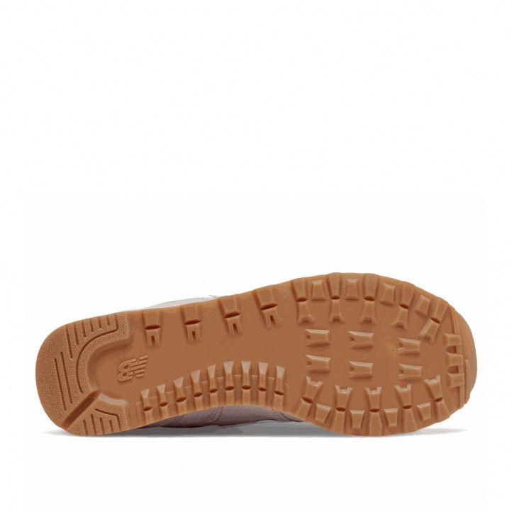 Zapatillas deportivas New Balance 574 logwood con white - Querol online