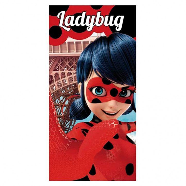 Tovallola ARTESANIA CERDA ladybug 70x140xm - Querol online