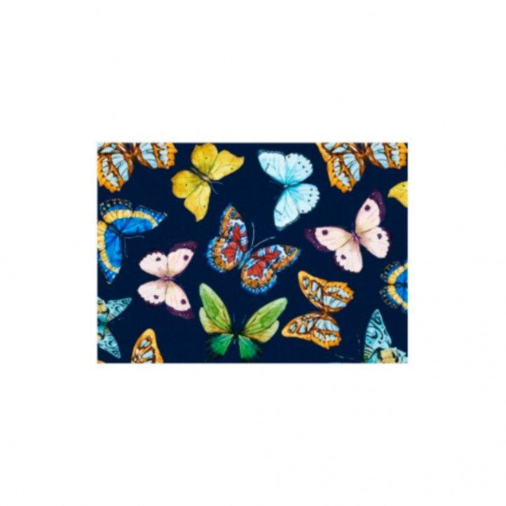 Mascarillas DEANSHIELD de hombre higiénica reutilitzable homologada mariposa azul - Querol online