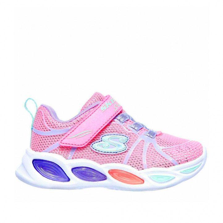 Zapatillas deporte Skechers shimmer beams rosa - Querol online