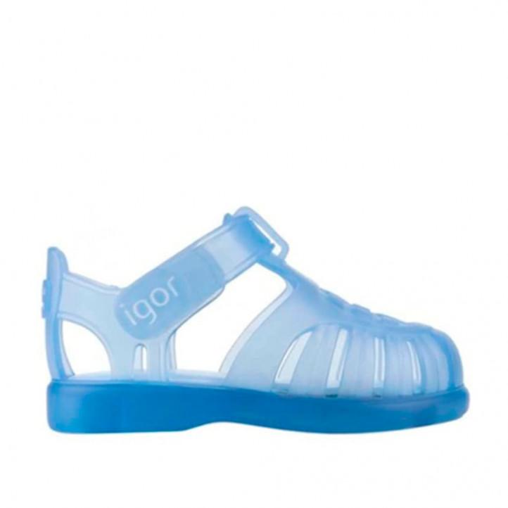 chanclas Igor cangrejeras azules - Querol online