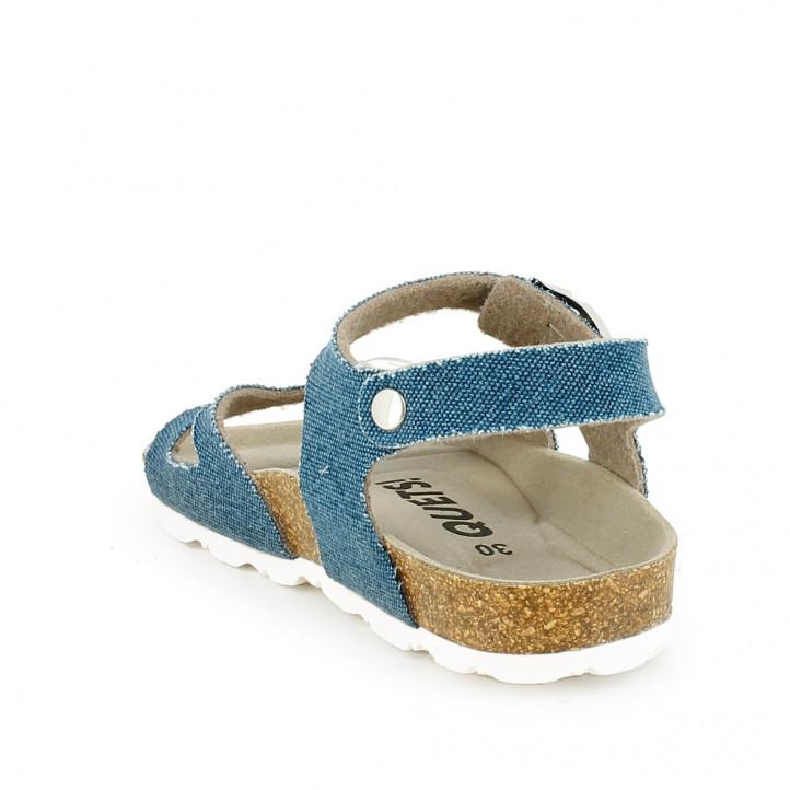 sandàlies QUETS! blau mari amb dues sivelles - Querol online