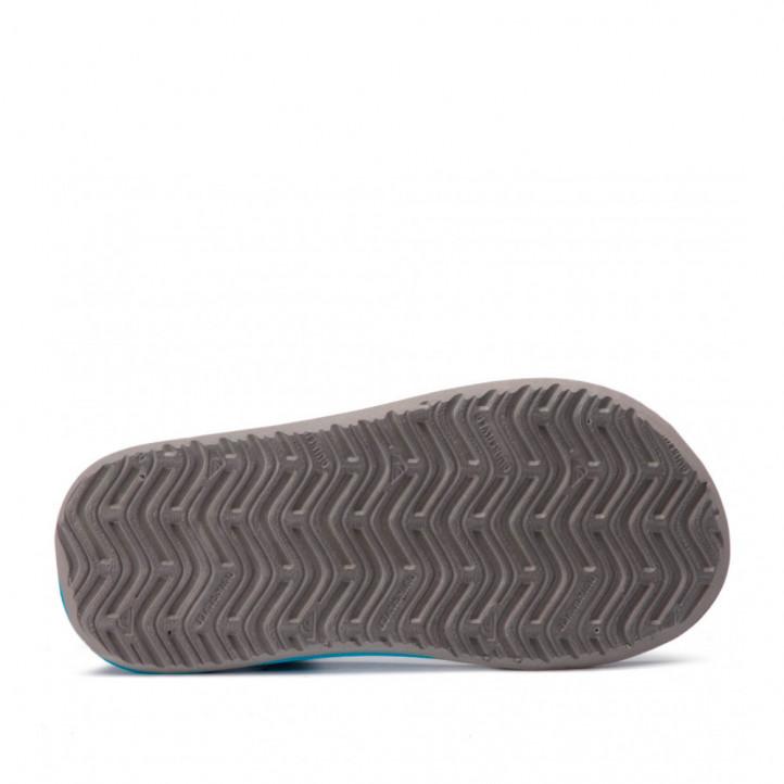 chanclas Quiksilver negras y azules con velcros - Querol online