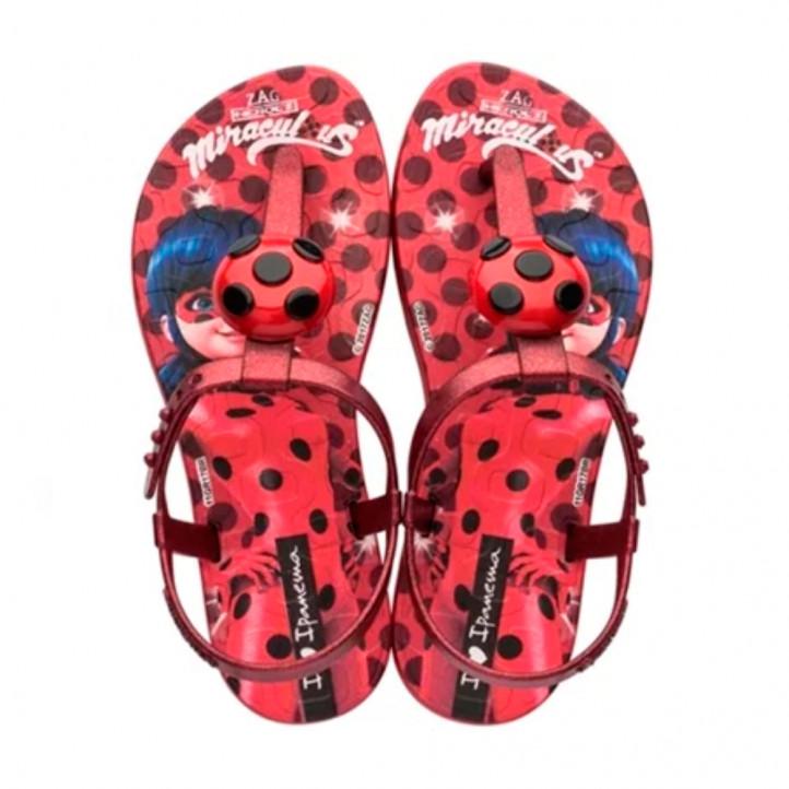 Xancletes Ipanema vermelles lady bug - Querol online