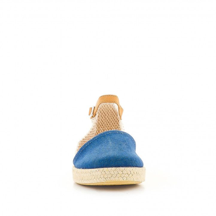 Espardenyes MEDITERRANEA blaves agafades al turmell - Querol online