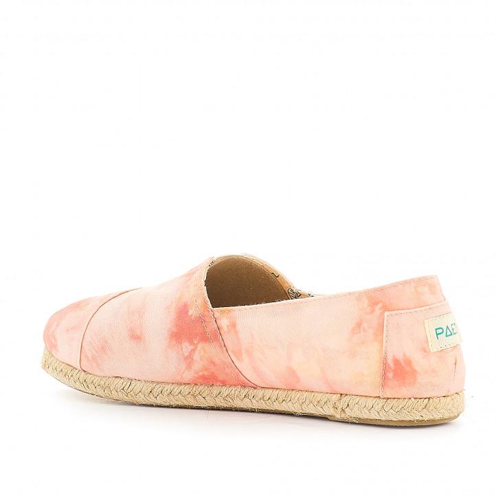 Espardenyes PAEZ tie dye coral - Querol online