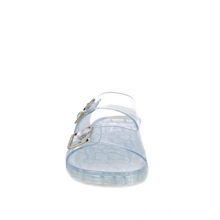 Xancles Owel transparents obertes amb doble sivella - Querol online
