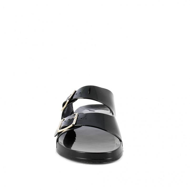 Xancles Owel negres obertes amb doble sivella - Querol online