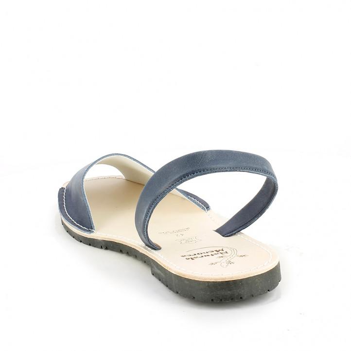 Abarcas Rotger azules de piel - Querol online