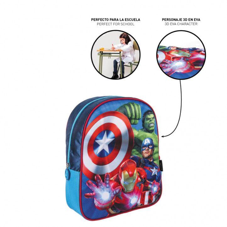 Mochilas Cerda kids backpack 3d avengers - Querol online