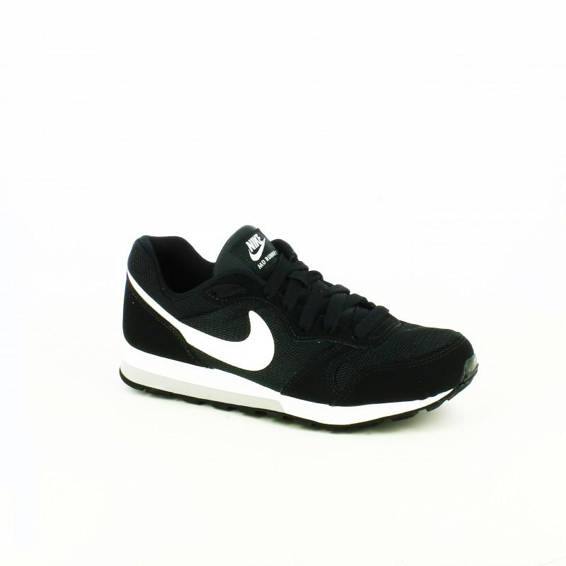zapatillas nike negras y blancas