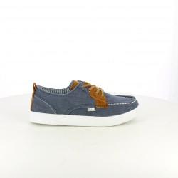 zapatillas lona XTI náuticos azules - Querol online