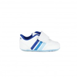Zapatillas ADIDAS blanques i blaves amb sola antilliscant - Querol online