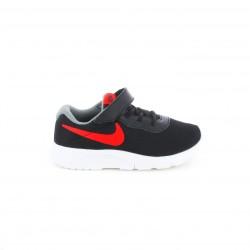 Zapatillas NIKE tanjun negras y rojas - Querol online