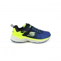 zapatillas deporte SKECHERS azules y verdes fluor - Querol online