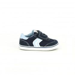 zapatillas lona GEOX azules con plantilla transpirable - Querol online