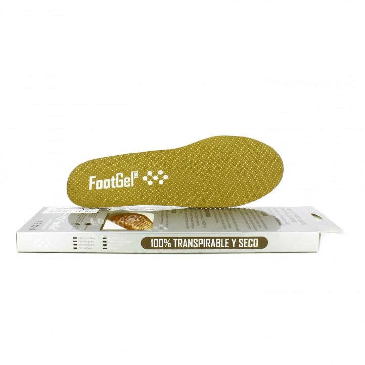 complementos FootGel plantillas fragancia naranja - Querol online